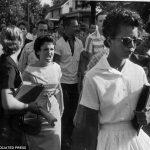 Intergrating Arkansas, black female student