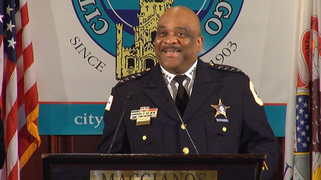 Chicago's Police Superintendent Eddie Johnson