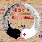 word cloud divisions bias antagonism