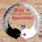 word cloud divisions bias antagonism
